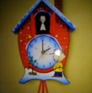 .Peanuts cockoo clock